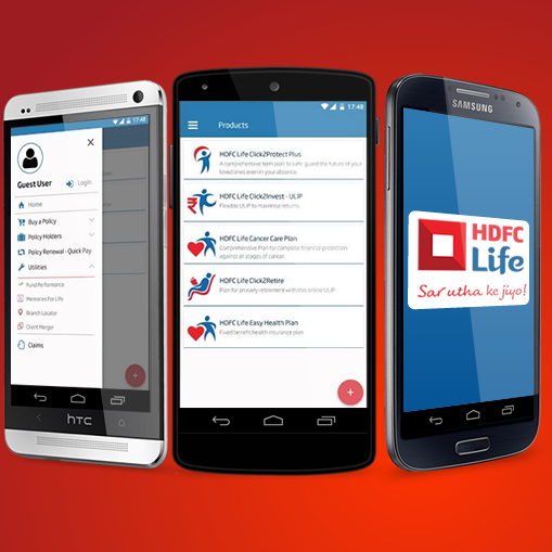 HDFC Life Mobile App for Android & iOS